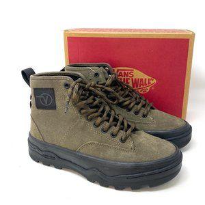 VANS Sentry Wc Women's Suede Canteen Green Boots
